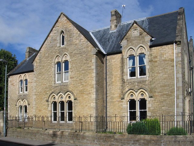 Bishop Auckland - St Wilfrid's RC Presbytery - from south