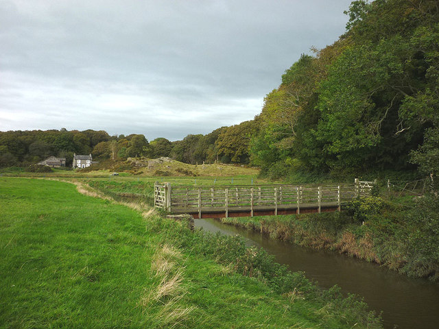 Footbridge over the River Winster, Nichols Wood