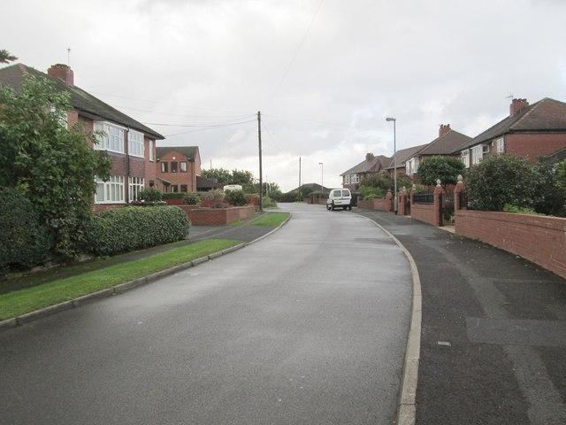 Hedley Crescent - viewed from Moxon Grove