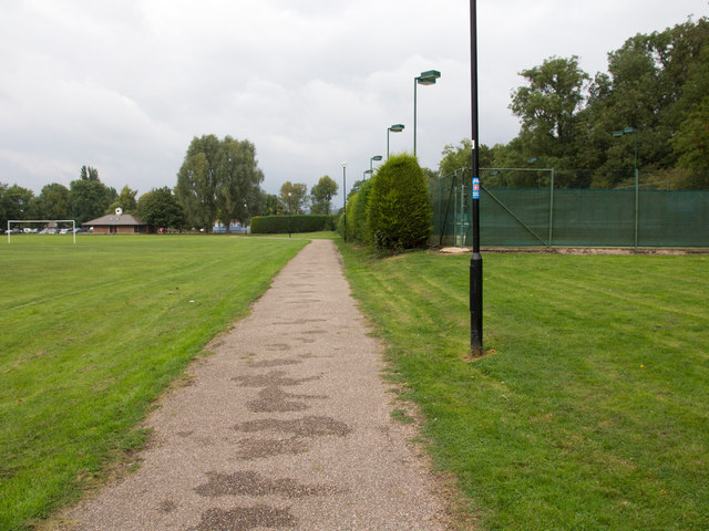 Cycleway through the Recreation Ground