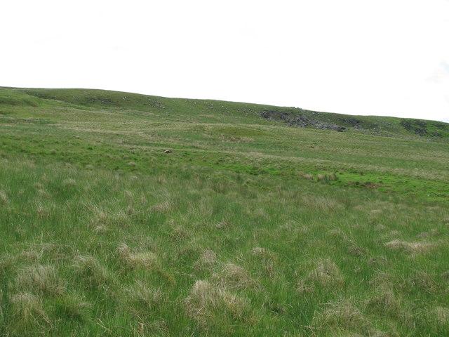 Moorland below Devil's Crag