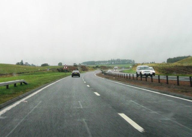 A9 eastbound