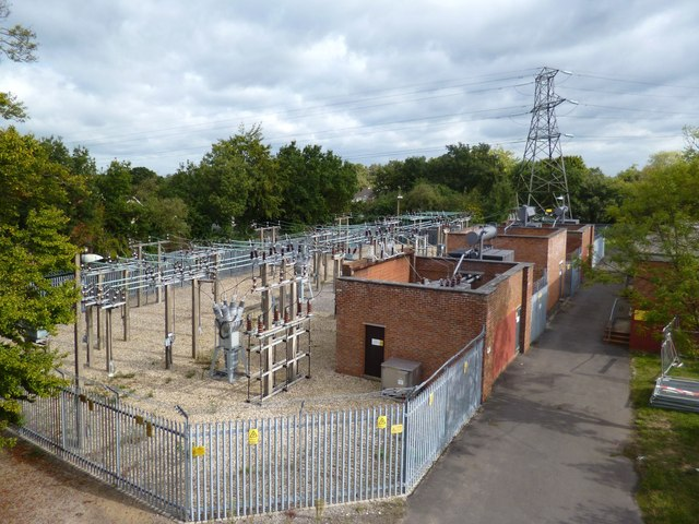 Electricity Depot near Earley Station