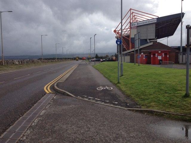 Stadium Road and Caledonian Stadium