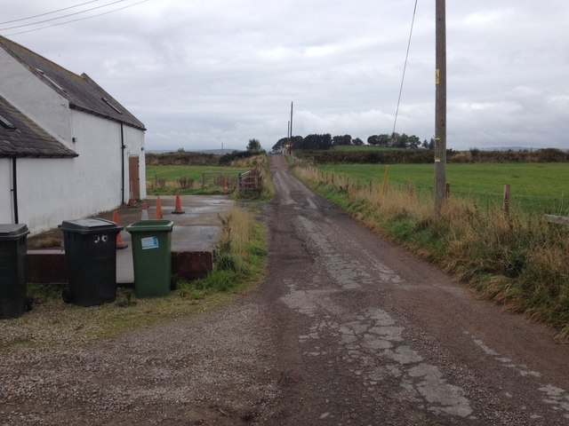 Road at Lower Cullernie