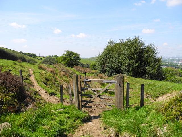 Path to Cockers Farm