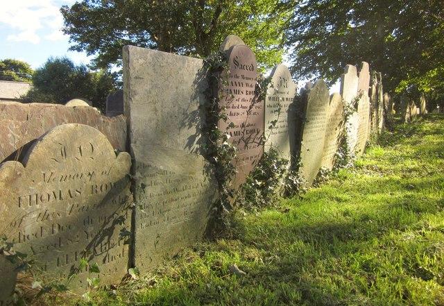 Gravestones, Landrake