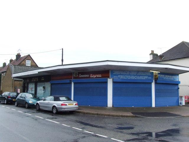 Shops opposite Teynham Station