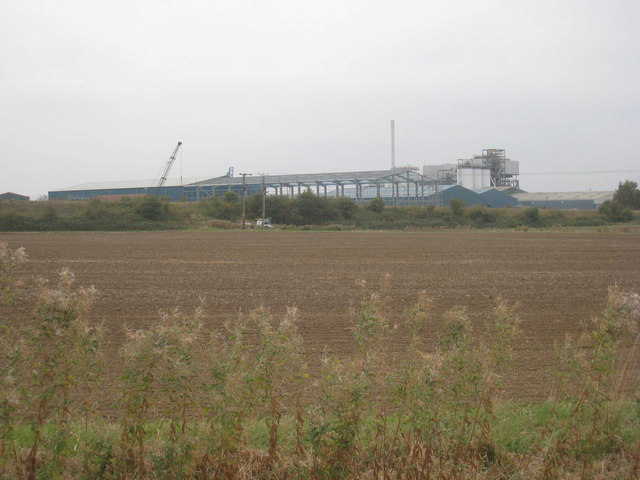 New construction near Flixborough Wharf