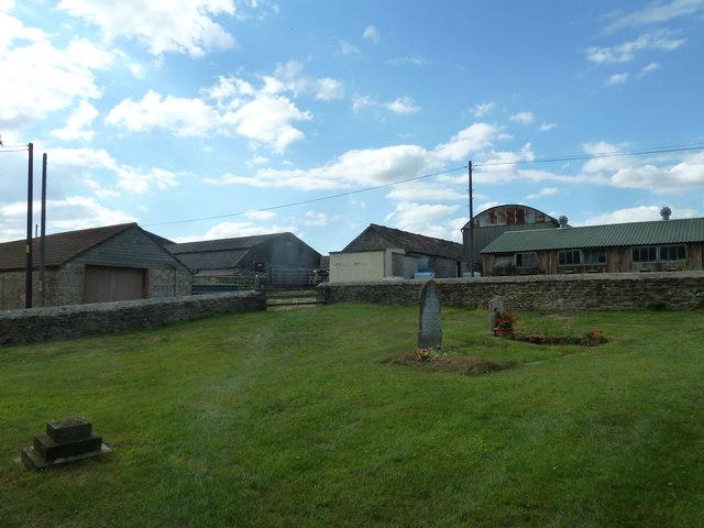 Saint Peter, Goathill: churchyard (a)
