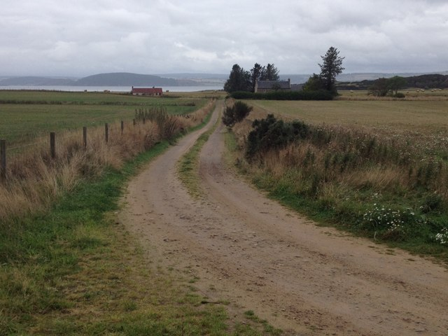 Farm road to Lonnie