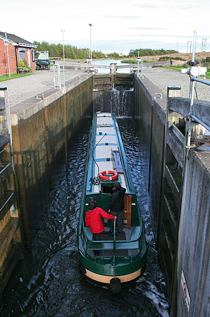In the Upper Lock