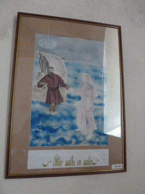 Saint Peter, Goathill: artwork (i)