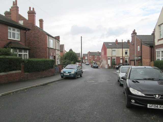 First Avenue - looking towards Leeds Road