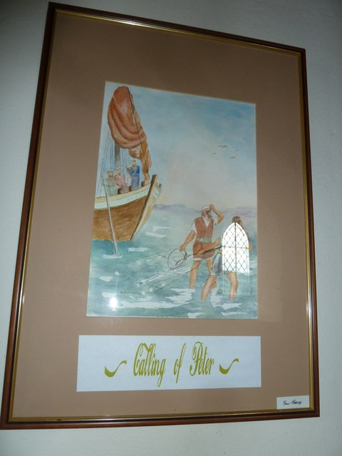 Saint Peter, Goathill: artwork (iii)