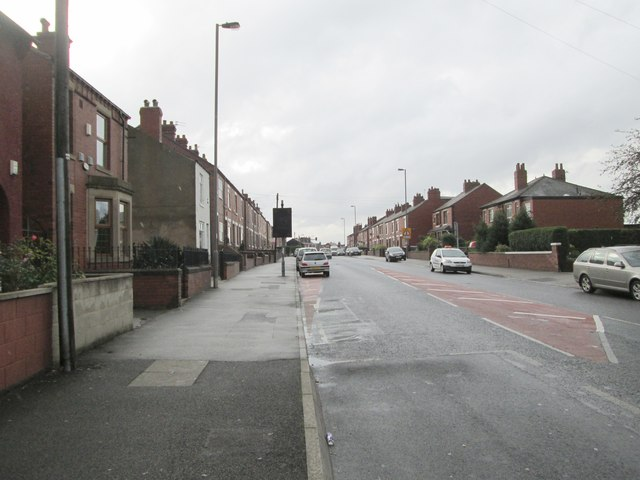 Leeds Road - viewed from First Avenue