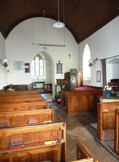 Inside Saint Peter, Goathill (B)