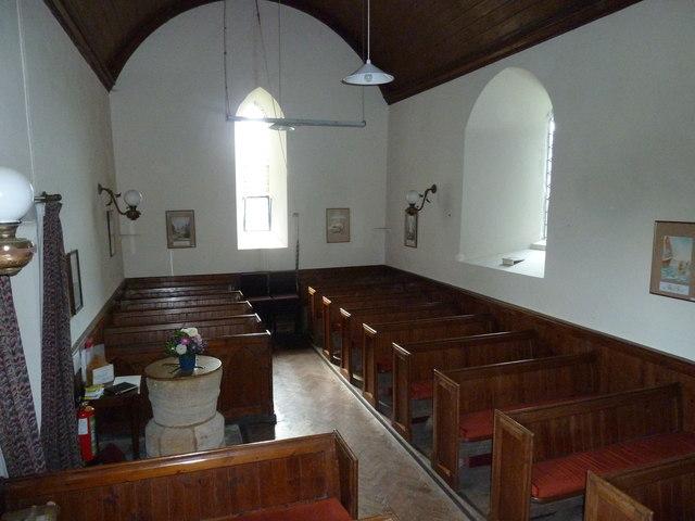 Inside Saint Peter, Goathill (C)
