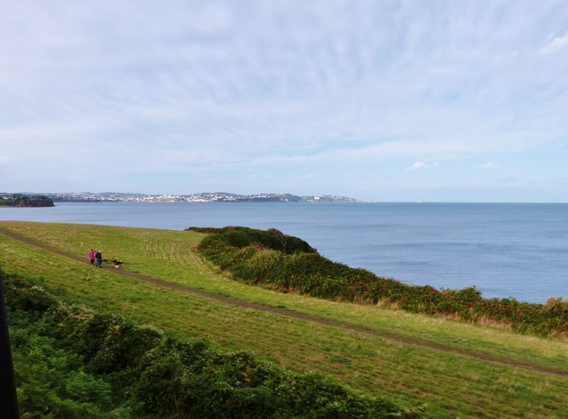 Saltern Bay with Torquay in the distance