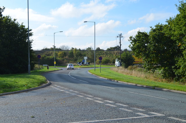 The A14 from B1044