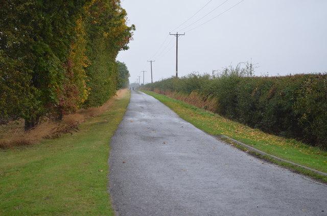 Long Lane towards Ingham