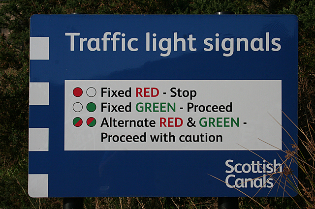 Traffic Lights with a difference.