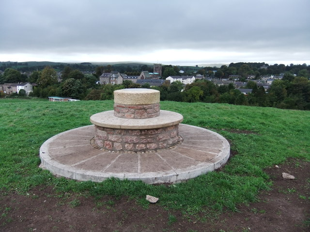 Diamond Jubilee Topograph on Kirkby Hill