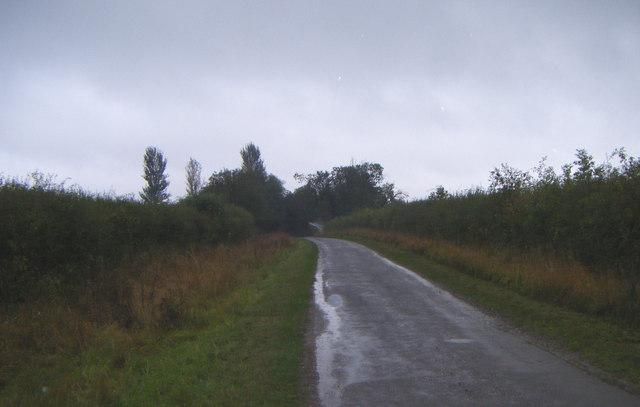 Lane heading north