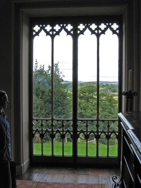 Bishop Auckland - Castle - Gothic picture window