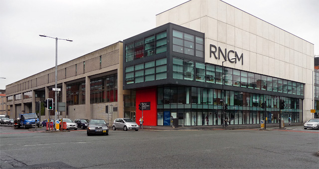 Royal Northern College of Music, Oxford Road, Manchester