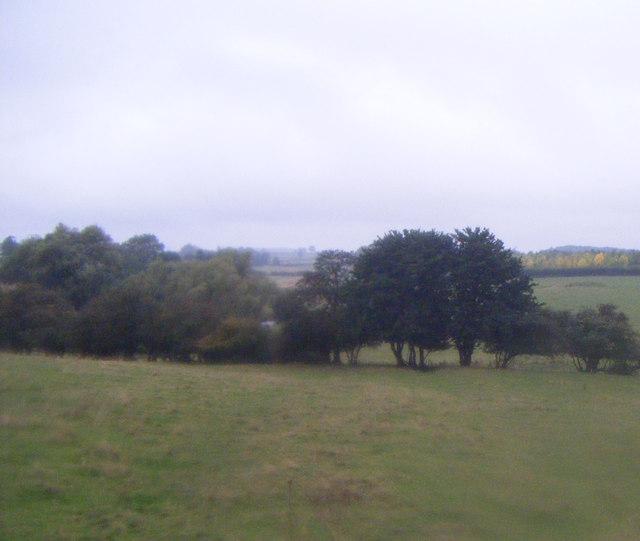 Farmland west of the A15