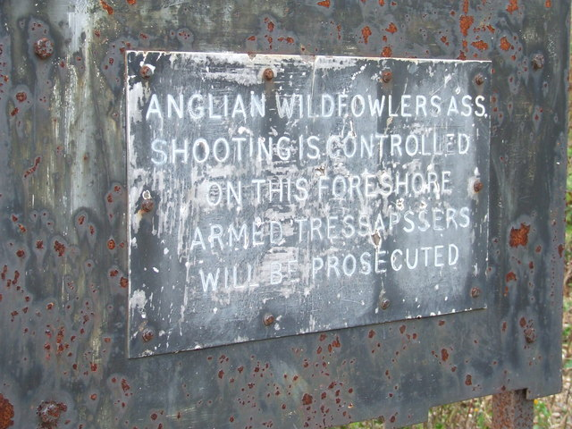 Armed Trespassers Will Be Prosecuted