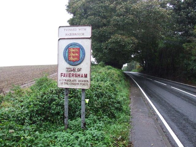 Faversham Town Sign