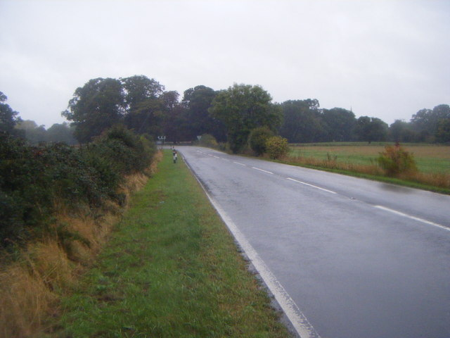 A15 heading north towards Sleaford