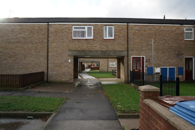 Houses on Reigate Close, Hull