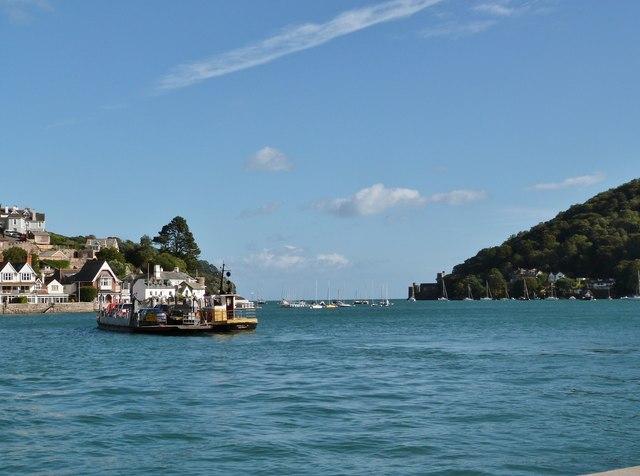 Dartmouth-Kingswear car ferry