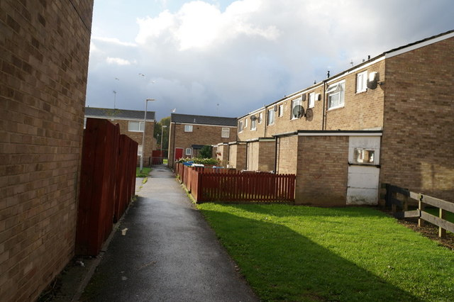 Houses on Staines Close, Hull