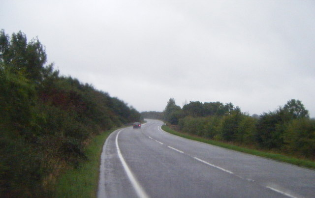 A15 heading north towards Sleaford