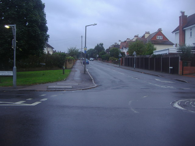 Elgin Road at the junction of Benhill Road