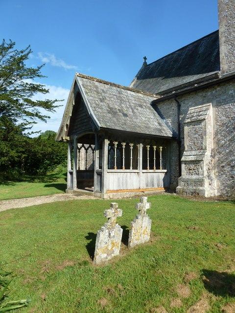 St. Andrew, Monkton Wyld: churchyard (c)