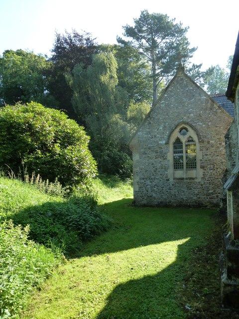 St. Andrew, Monkton Wyld: churchyard (d)