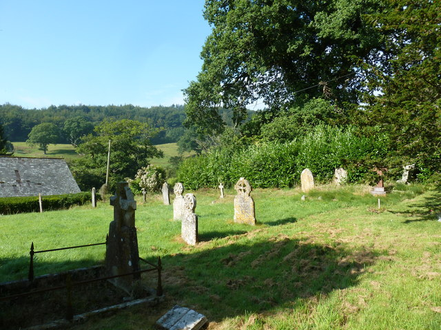 St. Andrew, Monkton Wyld: churchyard (f)