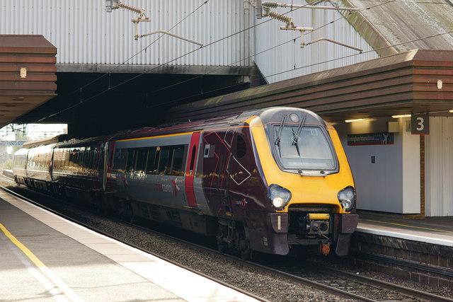 Cross Country Train at Birmingham International
