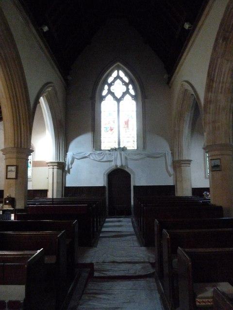 Inside St. Andrew, Monkton Wyld (F)