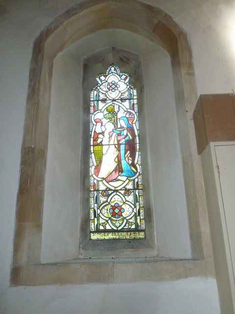St. Andrew, Monkton Wyld: stained glass window (iii)