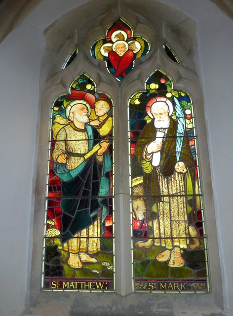 St. Andrew, Monkton Wyld: stained glass window (iv)