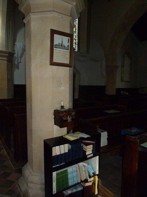 Inside St. Andrew, Monkton Wyld (K)