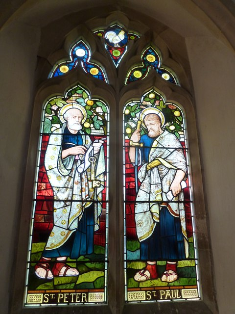 St. Andrew, Monkton Wyld: stained glass window (vi)