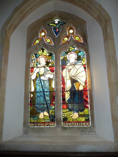 St. Andrew, Monkton Wyld: stained glass window (viii)