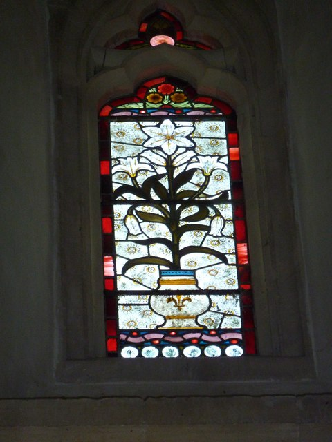 St. Andrew, Monkton Wyld: stained glass window (xi)